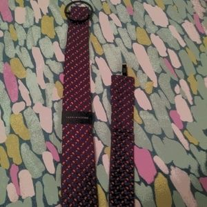 New Men's Tommy Hilfiger Tie and Pocket Square